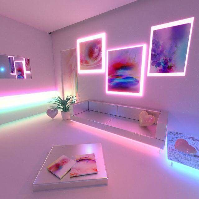 illuminated frames to decorate your home