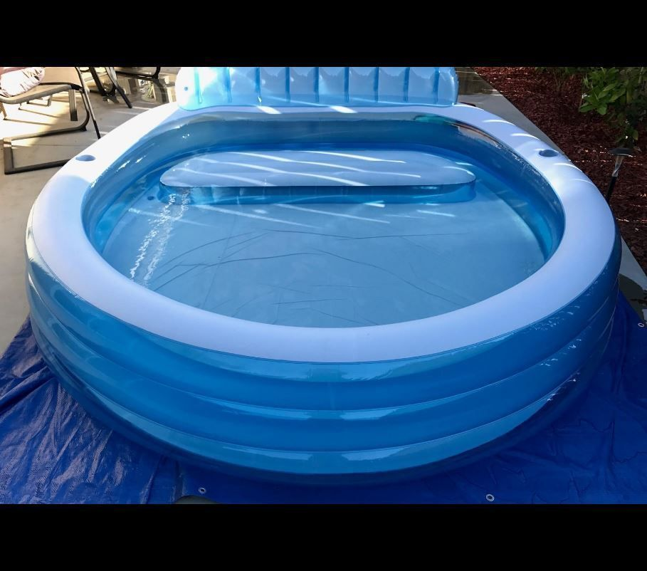 Choose the right size of inflatable pools