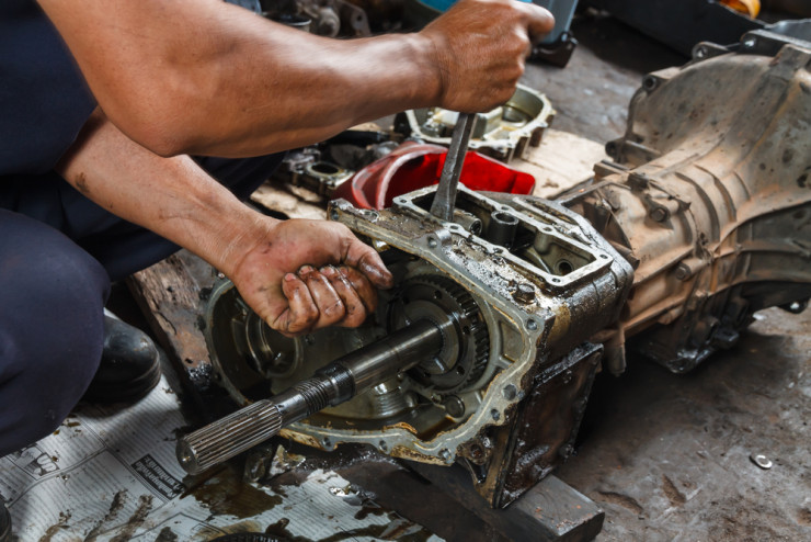 truck transmission repair